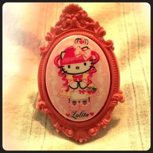 Tatiana Tarantino adjustable Hello Kitty ring